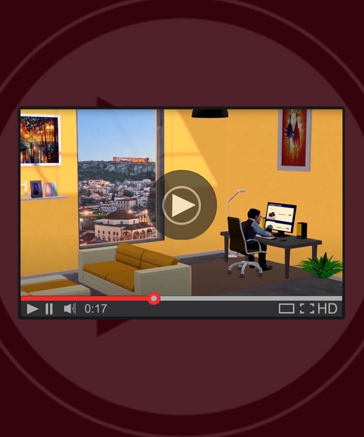 Animation promo video
